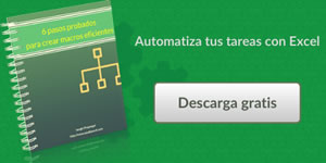 Crear macros Excel