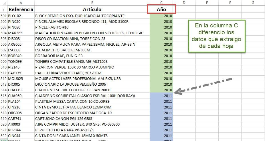 compara tablas 2