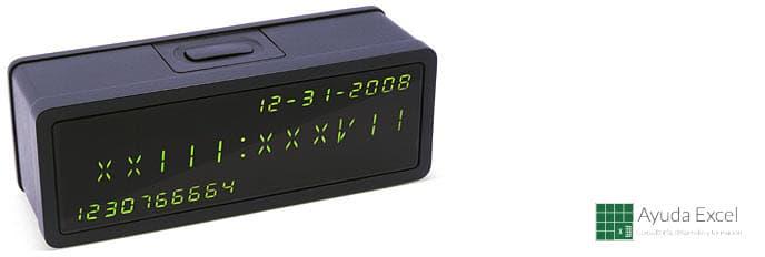 Truco: Convertir los Timestamps de UNIX a fechas en un instante