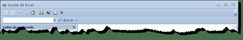 ¿Sabes utilizar la ayuda de Excel?