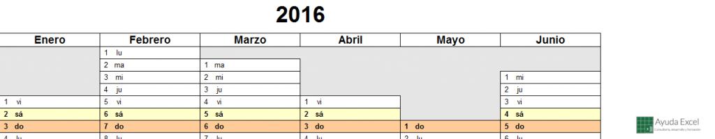 Calendario 2016 05