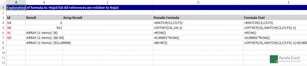 separar formula