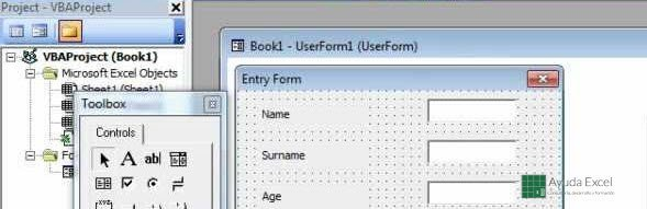 userforms excel