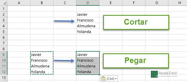 5 Técnicas Para Copiar Y Pegar Datos Ayuda Excel