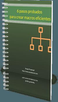 macros excel manual