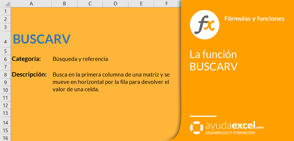 funcion buscarv excel