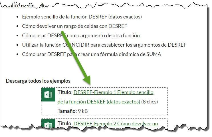 ejemplos archivos