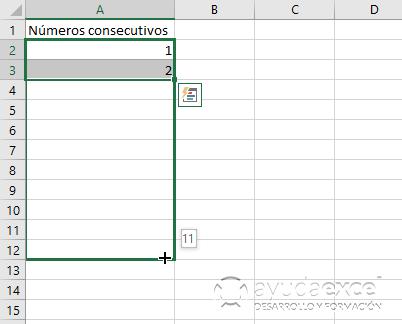 relleno crear números aleatorios en excel controlador