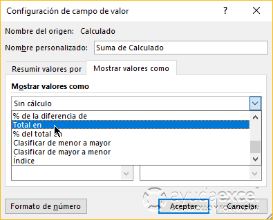 tabla dinamica totales en excel