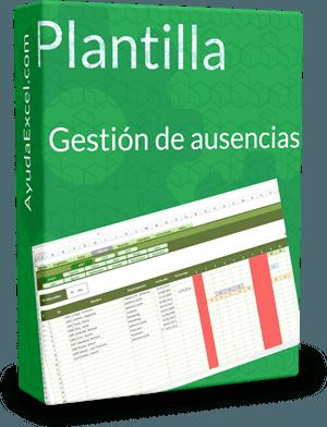 Gestión ausencias Excel