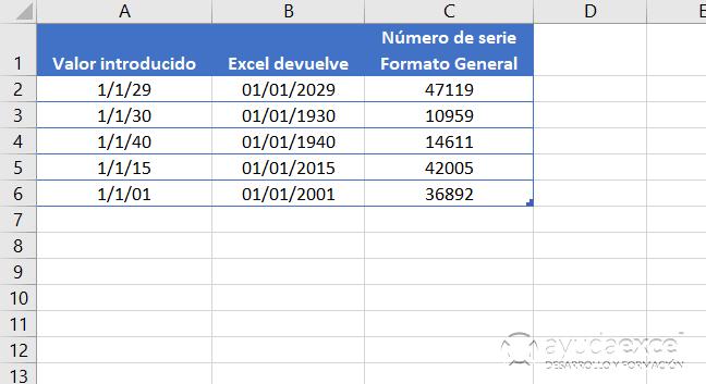 DOS DIGITOS FECHA Y HORA EN EXCEL