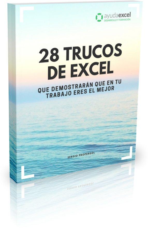 28 trucos Excel