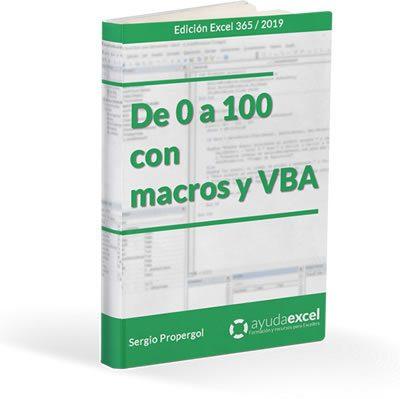 Ebook De 0 a 100 con macros y VBA