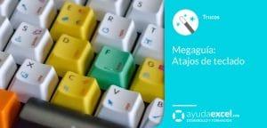 Excel Atajos de teclado