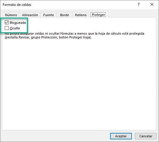 Formato de celdas Excel