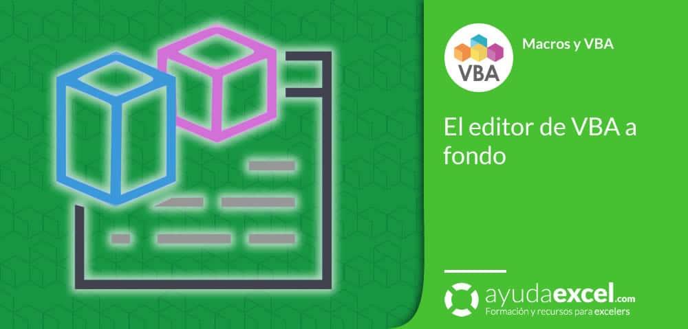 Editor de vba Excel