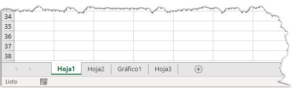 Varias hojas de Excel