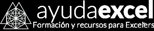Logo Ayuda Excel blanco